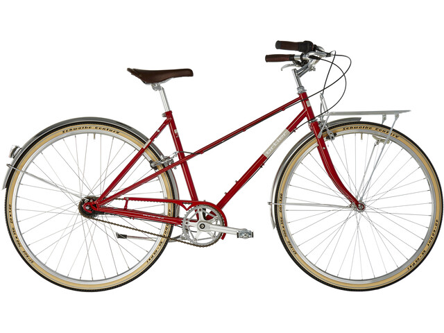Ortler Bricktown S Mujer, classic red